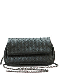 Intrecciato small chain crossbody bag medium 204779