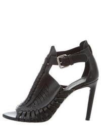 Proenza Schouler Leather Cage Sandals