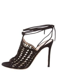 Leather woven sandals medium 5387735