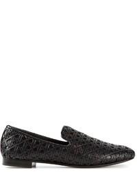 Giuseppe Zanotti Design Woven Loafers
