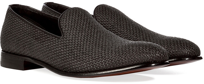 Sergio Rossi Woven loafers 1R6yWNUT9