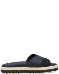 MSGM Woven Strap Sandals