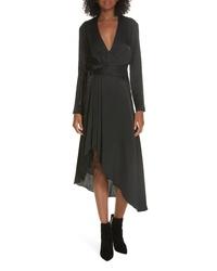 Equipment Adisa Asymmetrical Wrap Dress
