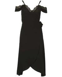 Izabel London Black Wrap Dress