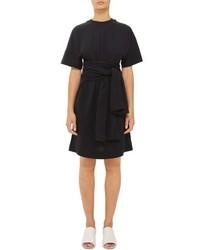 Topshop Boutique Wrap Waist T Shirt Dress