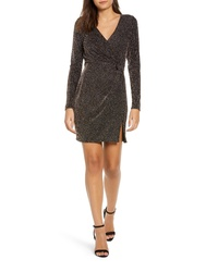 Row A Metallic Sheath Dress