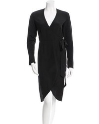 Rodarte X Other Stories Long Sleeve Wrap Dress