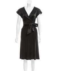Akris Silk Wrap Dress