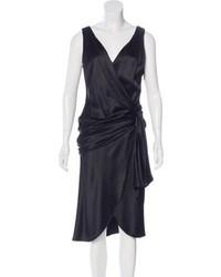 J. Mendel Silk Wrap Dress