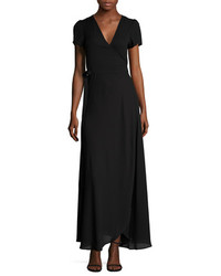 Surplice Wrapped Gown