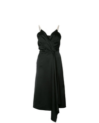 Victoria Beckham V Neck Wrap Dress