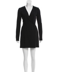 Proenza Schouler Wool Wrap Dress