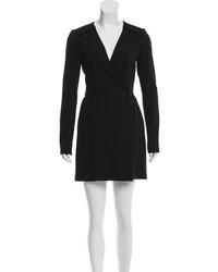 Proenza Schouler Wool Wrap Dress