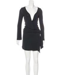 Diane von Furstenberg Wrap Mini Dress