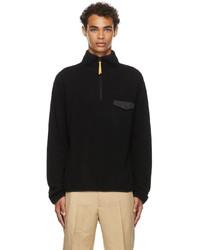 Jil Sander Black Cashmere Zip Up