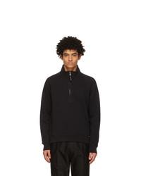 Tom Ford Black Half Zip Sweater