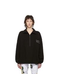 Simon Miller Black Rime Pullover Sweatshirt