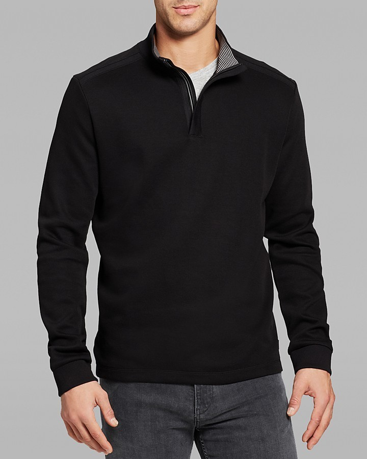 daf54e2f8f6 Hugo Boss Boss Piceno Quarter Zip Sweater, $145 | Bloomingdale's ...