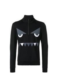 Fendi Face Pattern Sweater
