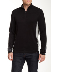 DKNY Jeans Quilted Half Zip Sweater