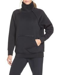 Nike Mock Neck Zip Pullover