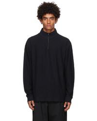 Soulland Organic Cotton Half Zip Virgil Sweater