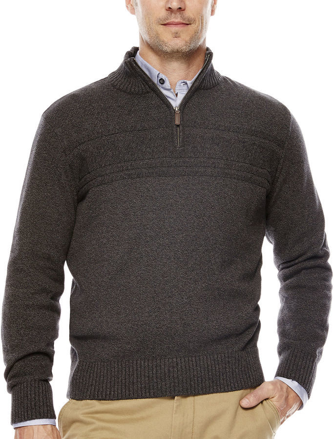 Dockers Quarter Zip Cotton Sweater | Where to buy & how to wear