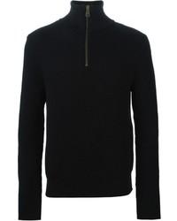AMI Alexandre Mattiussi Zipped Sweater