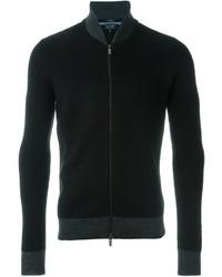 Armani Jeans Zipped Cardigan