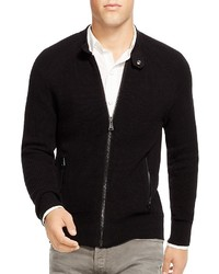 Polo Ralph Lauren Banded Collar Full Zip Cardigan