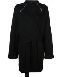 Barbara bui zipped cape belted cardigan medium 747273