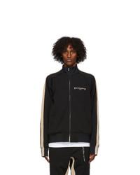 Mastermind World Black And Beige Side Line Track Jacket
