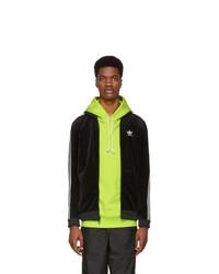 adidas Originals Black Cozy Track Jacket