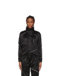 Danielle Cathari Black Deconstructed Track Jacket