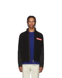 Moncler Black Maglione Tricot Jacket