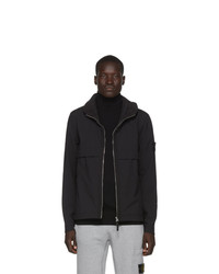 Stone Island Black Soft Shell R Jacket