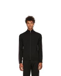 Prada Black Wool Track Jacket