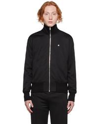 Givenchy Black Zip Up Track Jacket