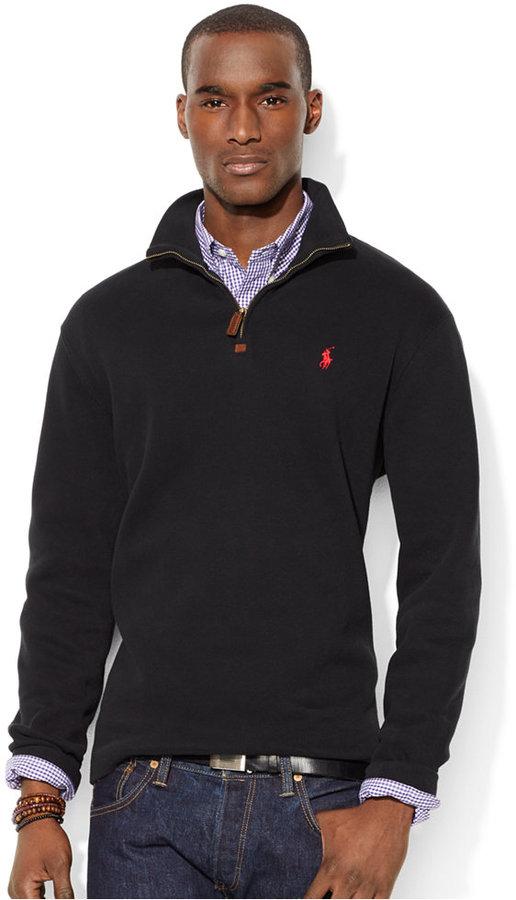 ... Polo Ralph Lauren French Rib Half Zip Pullover Sweater ...