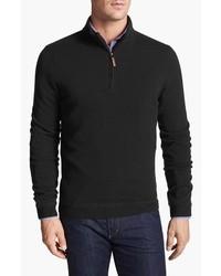 John W. Nordstrom Half Zip Cashmere Sweater