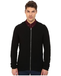 Lindbergh Kint Cardigan With Zipper
