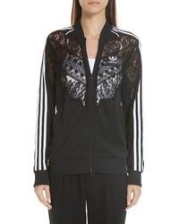 Stella McCartney Lace Inset Adidas Track Jacket