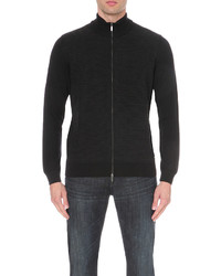Hugo Boss Leisure Knitwear Zip Up Cardigan