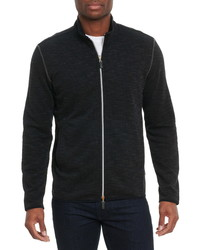 Robert Graham Stallworth Two Way Zip Up Sweatshirt