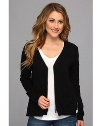 Vince Camuto Two By Slit Back Zip Cardigan