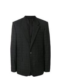 Blazer a cuadros negro de Givenchy