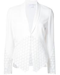 Blazer blanco de Diane von Furstenberg