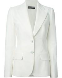 Blazer Blanco de Dolce & Gabbana