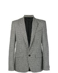 Blazer con print de flores gris de Givenchy
