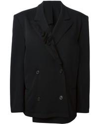 Blazer croisé noir Yohji Yamamoto